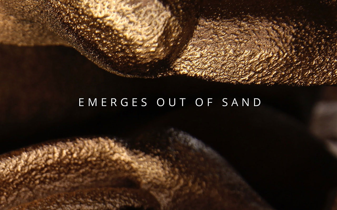 Digital Grotesque - Emerges out of sand -