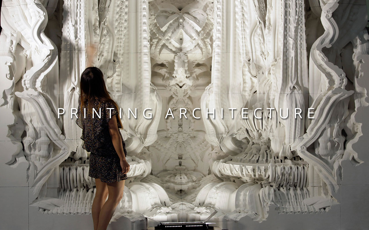 Digital Grotesque - Printing Architecture